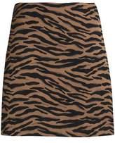 Claudie Pierlot Jacquard Mini Skirt