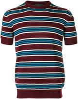 Prada short sleeve striped pullover