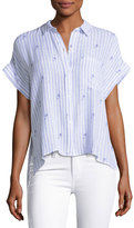 Rails Whitney Striped Button-Front Shirt