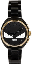Fendi Black & Gold Momento Bugs Watch