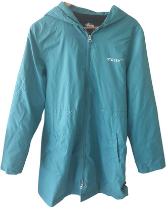 Stussy Turquoise Polyester Jackets