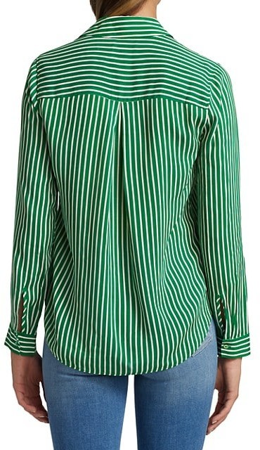 Thumbnail for your product : L'Agence Holly Striped Blouse