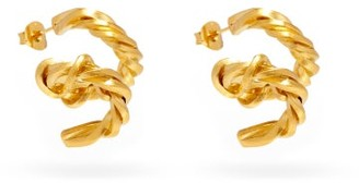 COMPLETEDWORKS Spiral 14kt Gold-vermeil Earrings - Yellow Gold