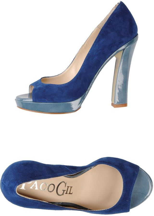 Paco Gil Pumps with open toe