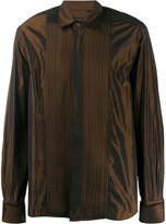 Valentino Pre Owned silk 1990s iridescent shirt