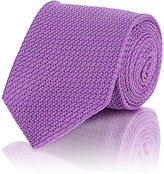 Drakes Drake's Men's Grenadine Necktie-PURPLE