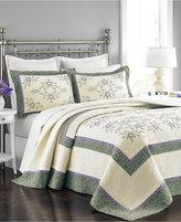 Martha Stewart Collection Valencia Eyelet Queen Bedspread