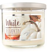 Lumalight 14.5 oz. White Pumpkin Candle
