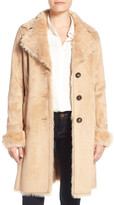 Belle by Badgley Mischka Faux Shearling Lined Coat