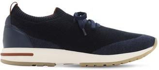 Loro Piana 360 Lp Flexy Knit Wool Sneakers