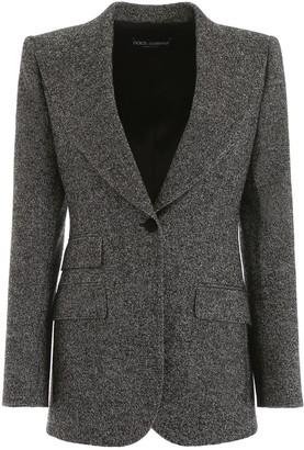 Dolce & Gabbana Tweed Blazer