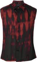 Ann Demeulemeester sleeveless printed shirt