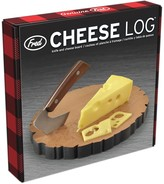 Fred & Friends Cheese Log Cutting Board & Cheese Knife Set