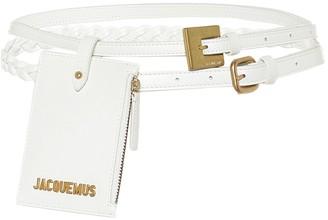 Jacquemus La Double Ceinture leather belt