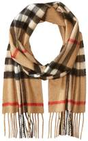 Burberry Exploded Check Cashmere Scarf Scarves