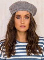 Brixton Heather Grey Beret