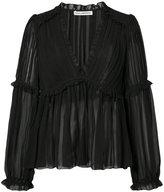 Ulla Johnson V-neck ruffle blouse