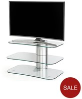 off the wall No More Wires Arc TV Stand - Fits Up To 55 Inch TV