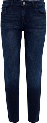 DL1961 Nicholson Cropped Mid-rise Skinny Jeans