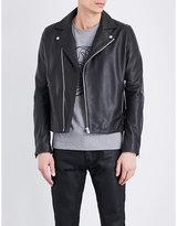 The Kooples Leather Biker Jacket