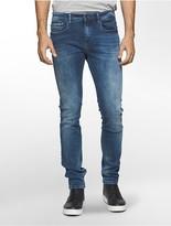 Calvin Klein Skinny Leg Blue Faded Jeans