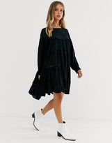 Free People piece of your heart tiered mini dress