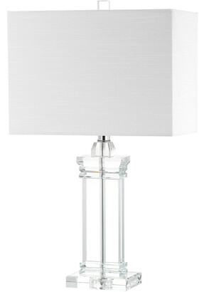 Jonathan Y Designs Ophelia 26.5In Crystal Led Table Lamp