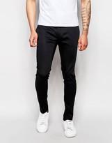 Asos Skinny Trouser In Cotton Sateen