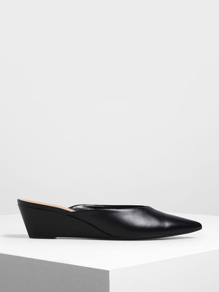 Charles & Keith V-cut Wedges