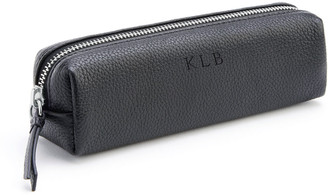 ROYCE New York Pebbled Leather Pencil Case