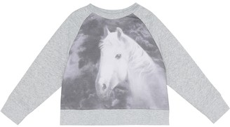 Stella McCartney Kids Printed cotton sweatshirt