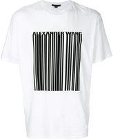 Alexander Wang barcode logo T-shirt
