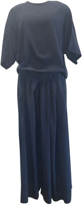 Christian Wijnants Navy Silk Dresses