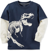 Carter's Dino-Print Cotton T-Shirt, Little Boys (2-7)
