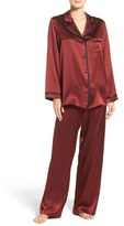 Women's Christine Lingerie Silk Pajamas