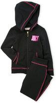 juicy couture (Infant Girls) Two-Piece Logo Hoodie & Jogger Pants Set