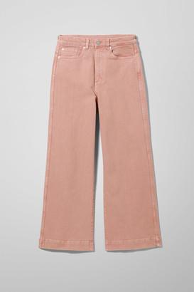 Weekday Veer Pink Jeans - Pink