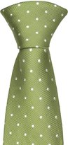 Notch Men's Silk Necktie - MILLIAM - Light color with white dots
