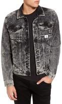 Calvin Klein Jeans Men's Calvin Klein Snow Wash Corduroy Trucker Jacket