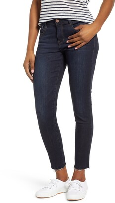 Wit & Wisdom Ab-Solution Raw Hem Skinny Jeans
