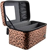Caboodles I Candy Makeup Cosmetic Train Case (cheetah)