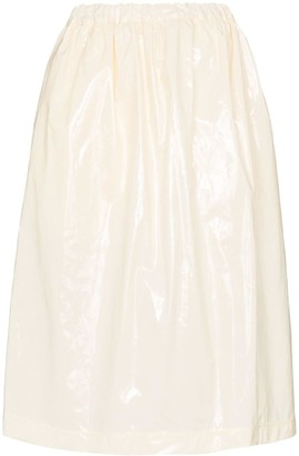 Plan C full midi-skirt