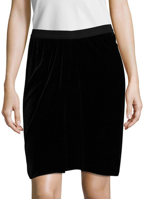 Isabel Marant Linore Grosgrain Above The Knee Skirt