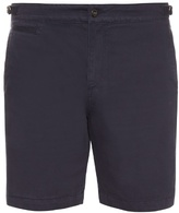 Orlebar Brown Jonathan cotton and linen-blend shorts