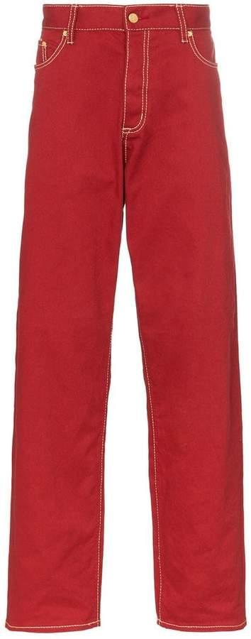 Eytys Benz wide-leg cotton twill jeans