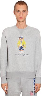 Polo Ralph Lauren Bear Cotton Blend Sweatshirt