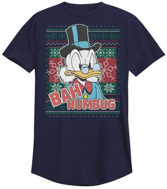 Disney Scrooge McDuck Holiday T-Shirt for Adults
