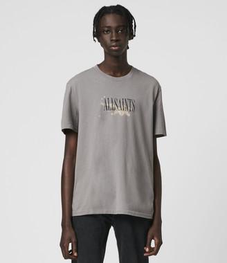 AllSaints Bleach Splash Crew T-Shirt
