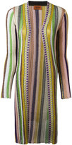 Missoni striped cardigan - women - Polyester/Cupro - 46