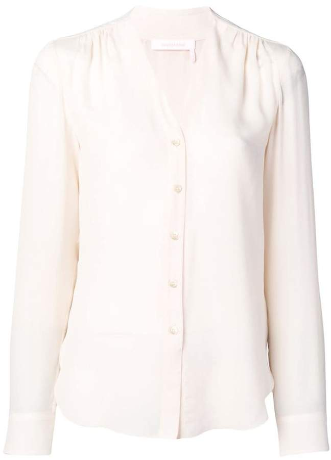 See by Chloe long-sleeve fitted blouse
